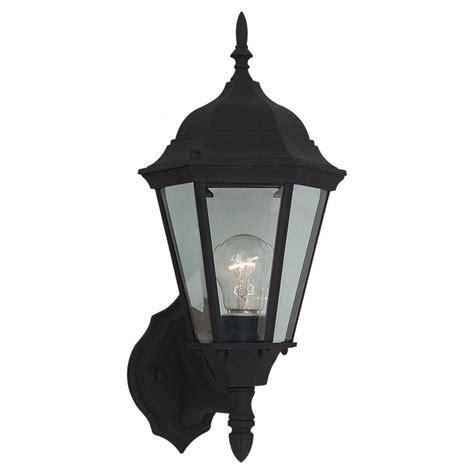 sea gull lighting bakersville 1 light large outdoor black