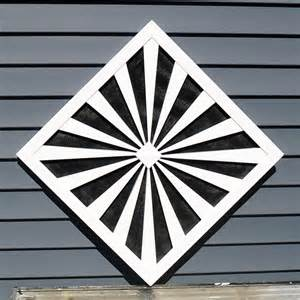 custom gable end vents traditional registers grilles and vents other metro by onyx xteriors
