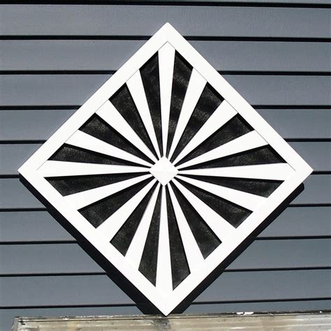 custom gable end vents traditional registers grilles