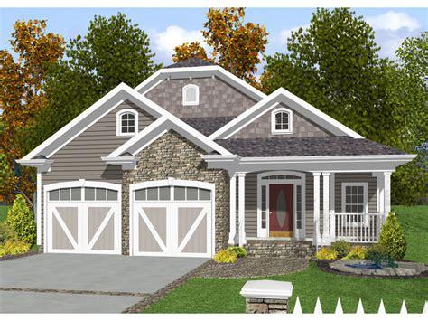 Baldwin Narrow Lot Home Plan 013d-0132