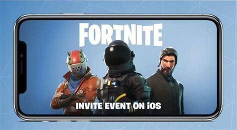 fortnite mobile sign ups   ios users