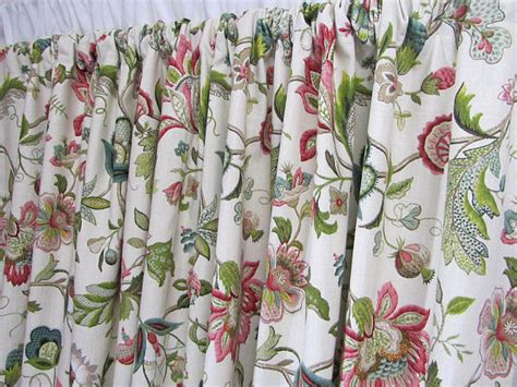 jacobean style floral eyelet curtains floral curtains tone window curtains jacobean floral