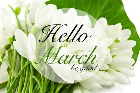 Goodbye February, Hello March!