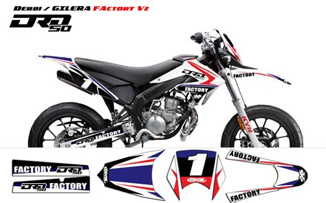 kit d 233 co derbi drd x treme 2011 2013 gilera factory v2