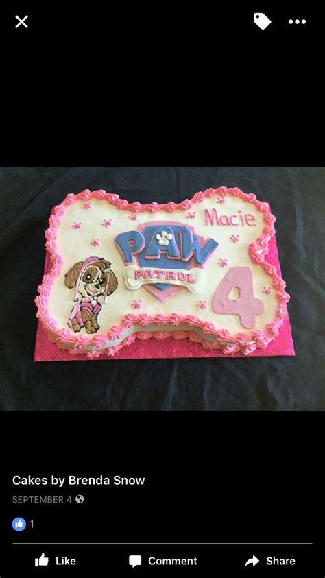 paw patrol cake   paw patrol birthday cake