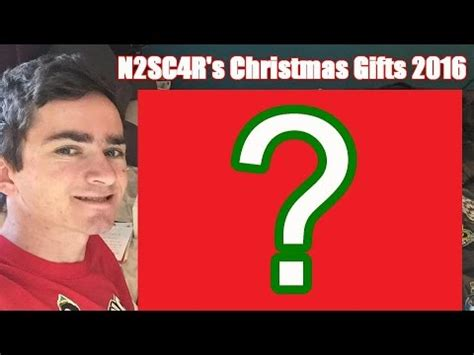 N2sc4r's Christmas Gifts [2016] Youtube