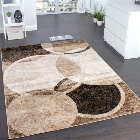 teppich wohnzimmer beige designer teppich wohnzimmer teppich kreis muster in braun beige preishammer wohn und