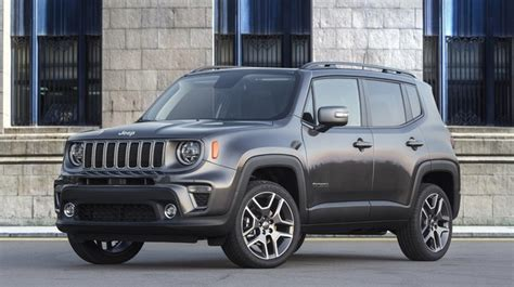 Jeep Updates Its Small Renegade Crossover For 2019