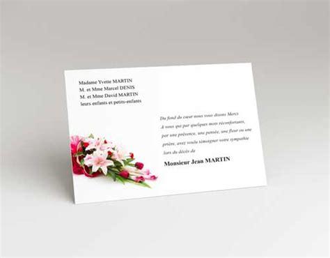 modele de lettre de soutien apres un deces carte remerciement d 233 c 232 s faire part de deuil
