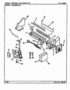 Wiring Diagram  34 Maytag Ice Maker Parts Diagram