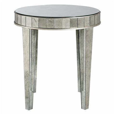 Mirrored Bedside Table  Add A Touch Of Elegance