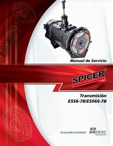 Documento Manual Para Transmisiones Spicer Es066