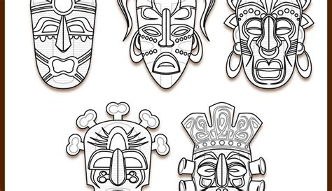 icolor africa tribal masks   images