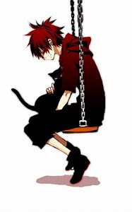 Anime Boy With Cat Eyes