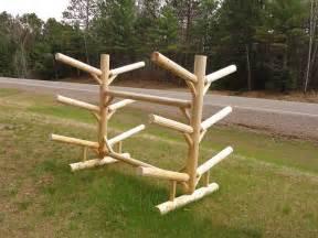 Lumber Storage Rack Plans Free by 6 Place Kayak Rack Double Sided Kayak Amp Canoe Storage System