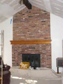 Living Room with Brick Fireplace Ideas