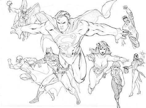 disegni da colorare della justice league the brave and the bolt justice league coloring page netart