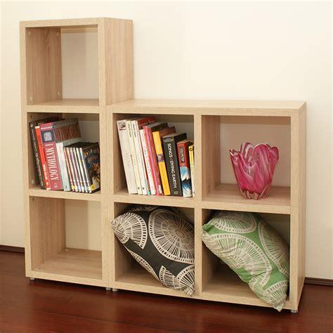 Shop Storage Shelves by Modular 7 Cube Oak Kit X2 Mastershelf