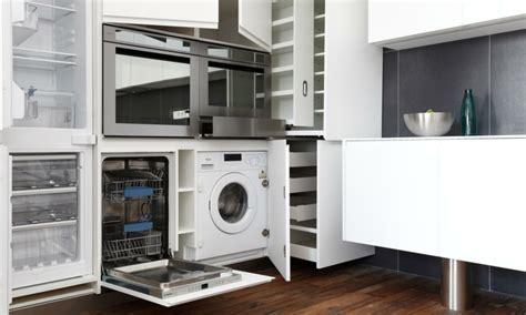 machine de cuisine meuble machine à laver pour un coin buanderie pratique