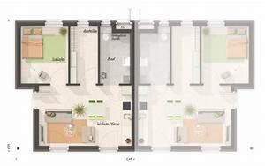Doppelhaus Grundriss Beispiele : gl ckswelthaus duo town country haus massivhaus ~ Lizthompson.info Haus und Dekorationen