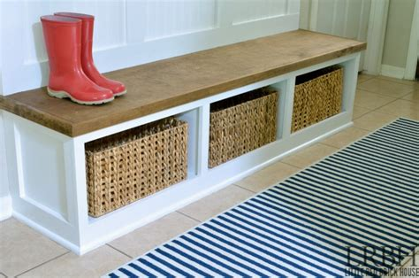 how to build a mudroom bench with cubbies diy entryway mudroom reveal