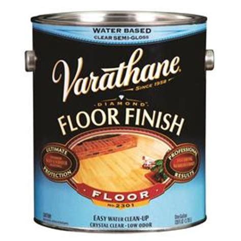 Varathane Floor Finish Satin by Shop Varathane Floor Finish Satin Water Based 128 Fl Oz