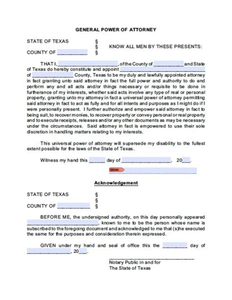 20938 financial power of attorney form general financial power of attorney form power of