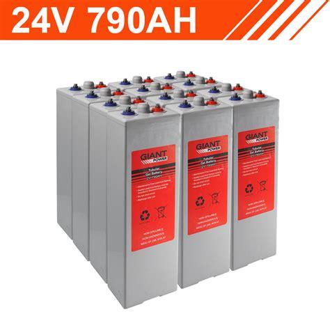 Tubular Gel Battery Bank