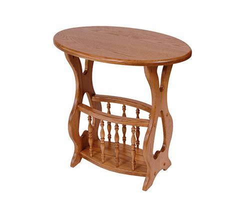 magazine rack table l four seasons furnishings amish made furniture solid oak