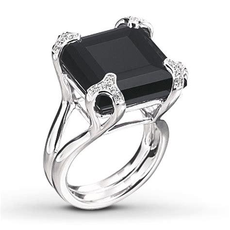 black onyx engagement rings wedding and bridal inspiration