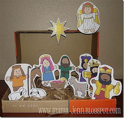 simple catholic crafts to make with your 883 | catholic advent crafts for kids nativity1