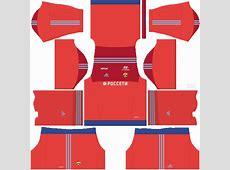 Kit PFC CSKA Moscow DLS 17 – Dream League Soccer