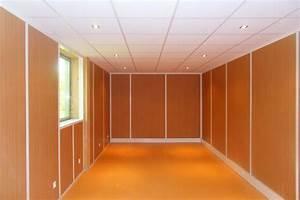 Cloison Acoustique Bureau : cloison de bureau espace cloisons alu ile de france ~ Premium-room.com Idées de Décoration