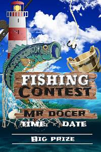 Fishing, Contest, Template
