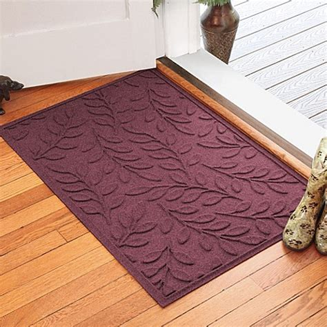 weather guard mats weather guard leaf 30 inch x 45 inch door mat