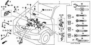 Engine Wire Harness For 1998 Honda Cr