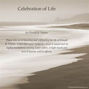 Celebration of life program templates share the knownledge for Celebration of life template free