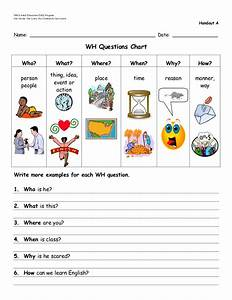 Wh Questions Worksheets For Kindergarten. Wh. Best Free ...