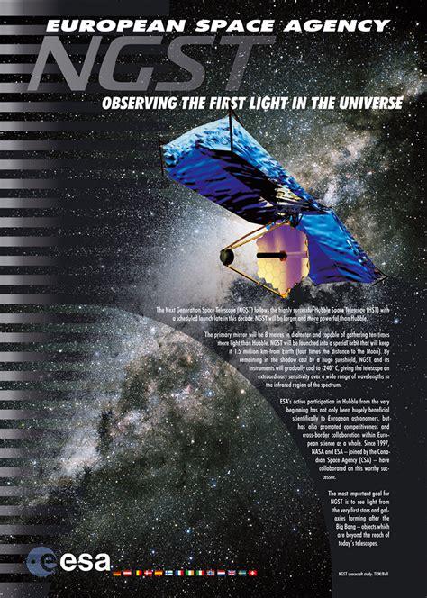 ngst observing   light   universe esahubble