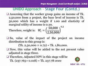 Social Cost Benefit Analysis