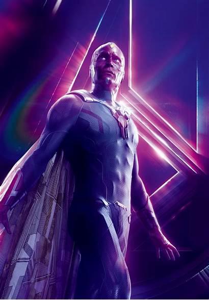Vision Marvel Cinematic Wiki Universe Hero Heroes