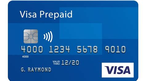 prepaid credit cards visa