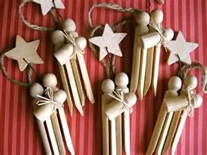 set of 3 clothespin nativity ornaments
