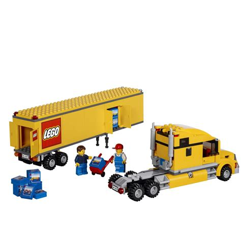 Lego Truck by Lego City Truck 3221 Building
