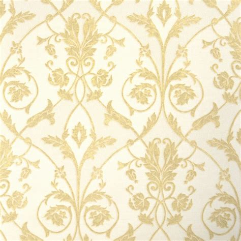 decor damask wallpaper gold w95537