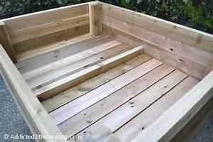 Fabriquer Un Potager Surélevé En Bois : fabriquer un carr potager en bois sur pied teciverdi ~ Melissatoandfro.com Idées de Décoration