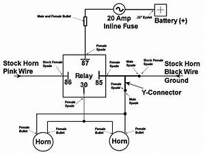 Motorcycle Horn Relay Wiring Diagram