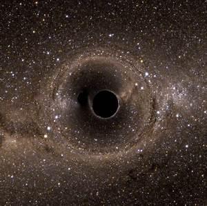 GIF of Two Merging Black Holes | POPSUGAR Tech