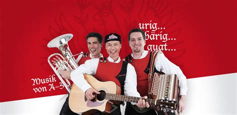 servus aus tirol musik fuer jeden anlass urig baerig guat