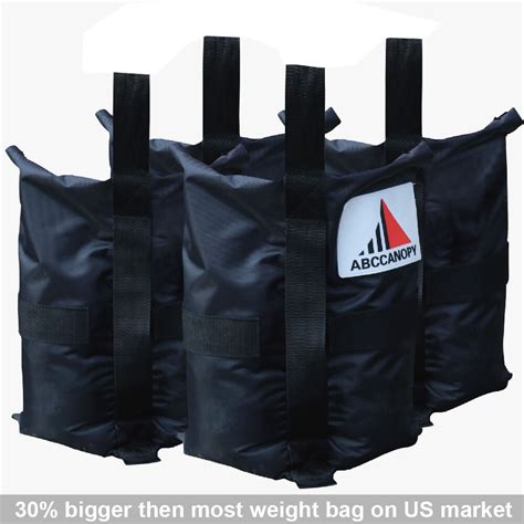 abccanopy instant shelters deluxe weight bags  ez  canopy set   ebay